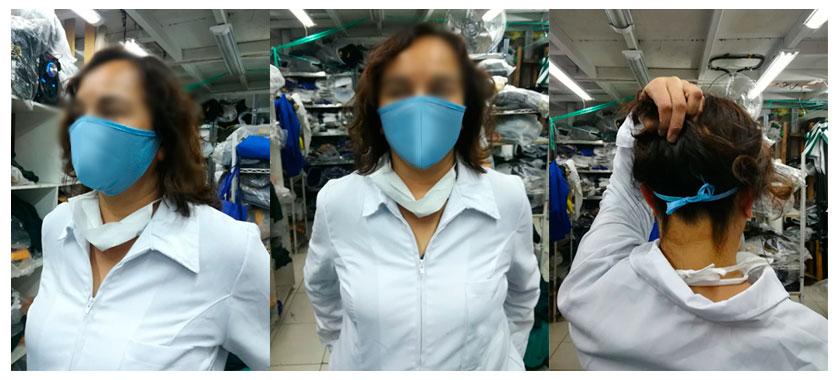 Mascarillas seguridad para clínicas